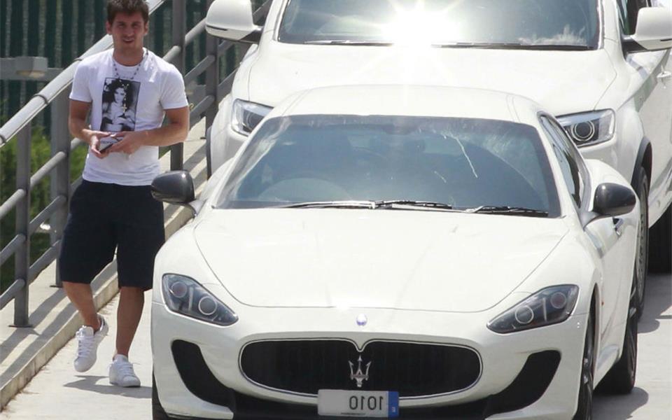 Lionel Messi – Maserati GranTurismo