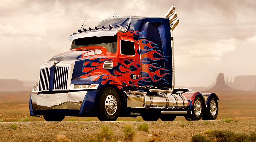 Camion Western Star Peterbilt 579
