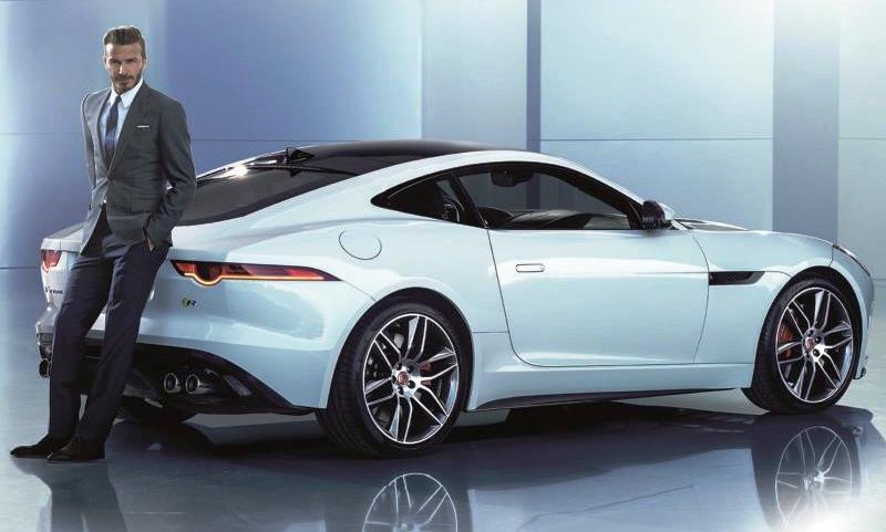 Jaguar - David Beckham