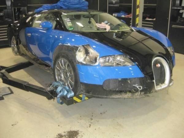 Bugatti accidentée 1