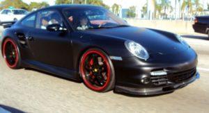 La Porsche 911 Turbo de Justin Bieber