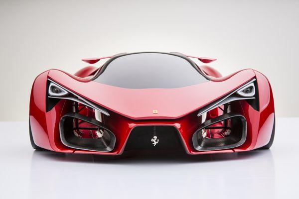 L'avant de la Ferrari F80