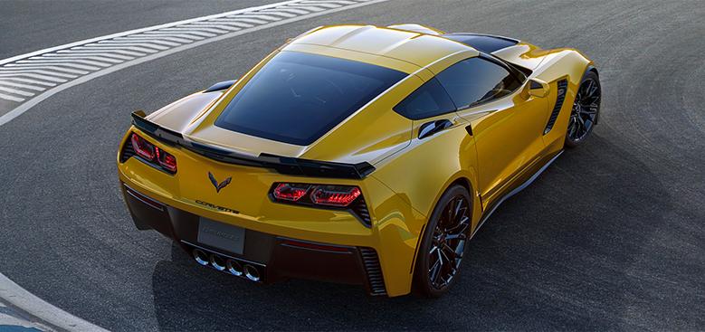 corvette z06 2015 arriere