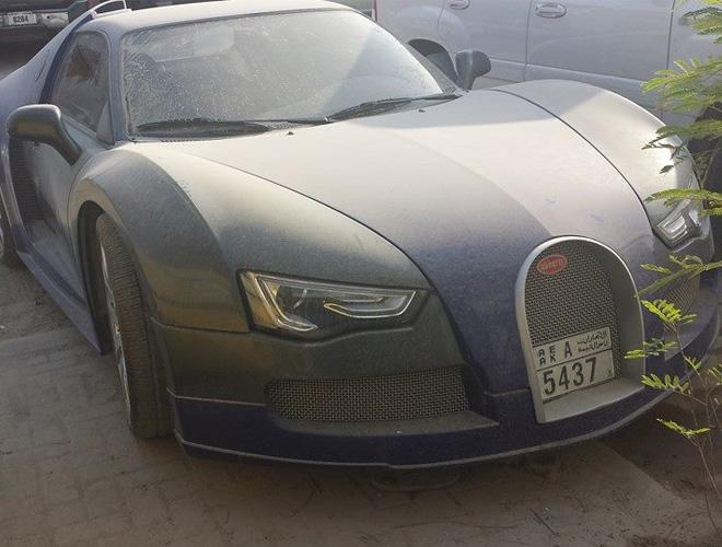 bugatti veyron dirty