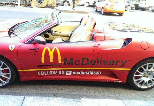McDonald Ferrari