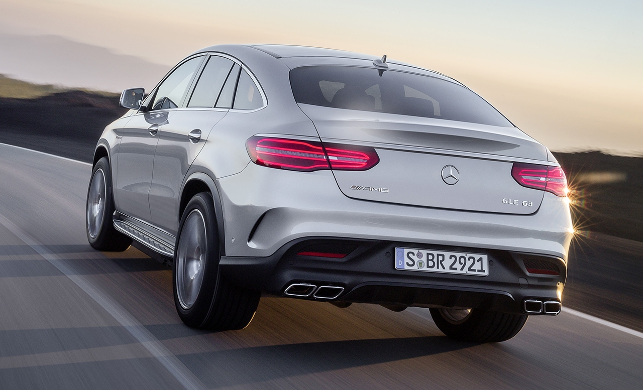 mercedes SUV GLE 63 Coupe