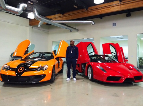 garage voitures Floyd Mayweather