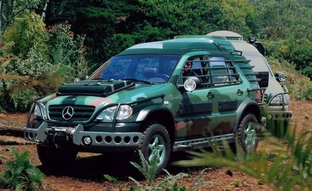 Mercedes Benz Classe M Jurassic Park le monde perdu