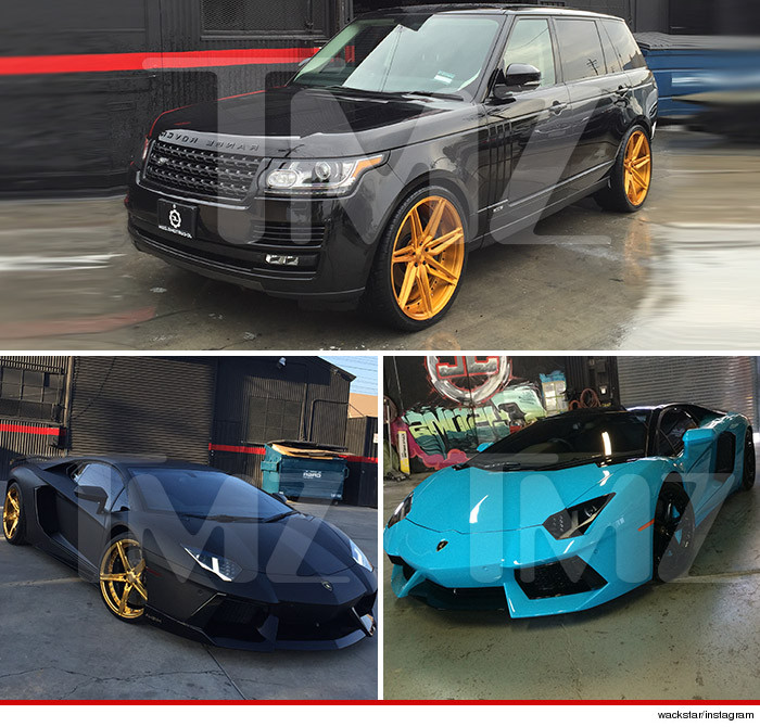 voitures de chris brown