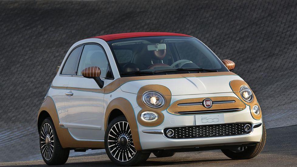 Fiat 500 par Bottega Conticelli (avant)