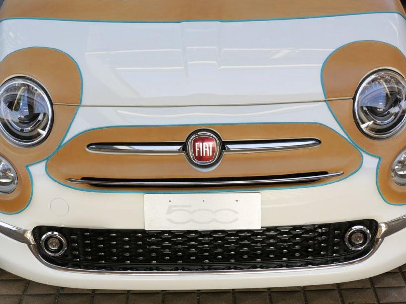 Fiat 500 par Bottega Conticelli (zoom)