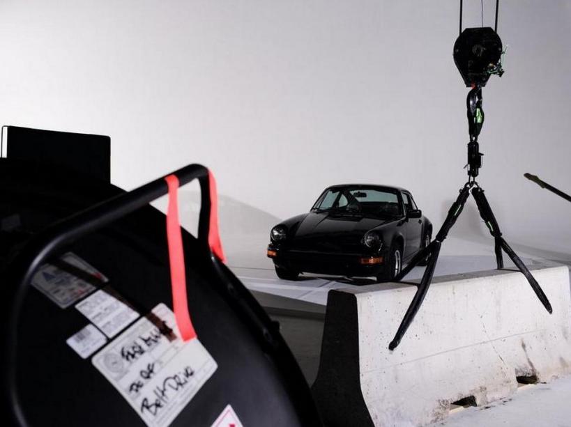 Porsche avant le crime