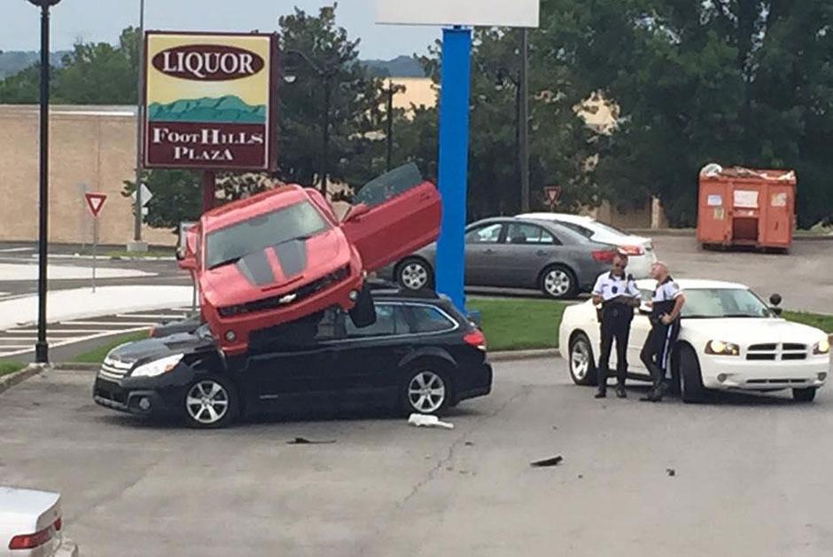 Accident Chevrolet Camaro