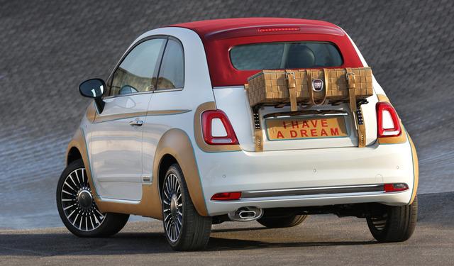 Fiat 500 par Bottega Conticelli (arrière)
