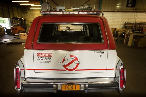 sos fantomes 3 Cadillac (arrière)