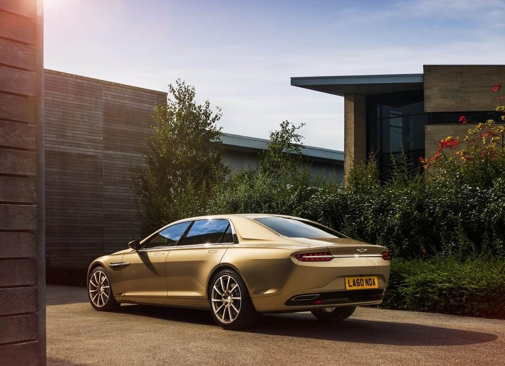 Aston Martin Lagonda Taraf (arrière 3/4)