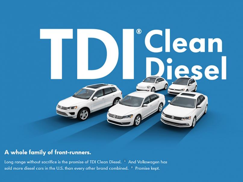 une publicité américaine pour VW