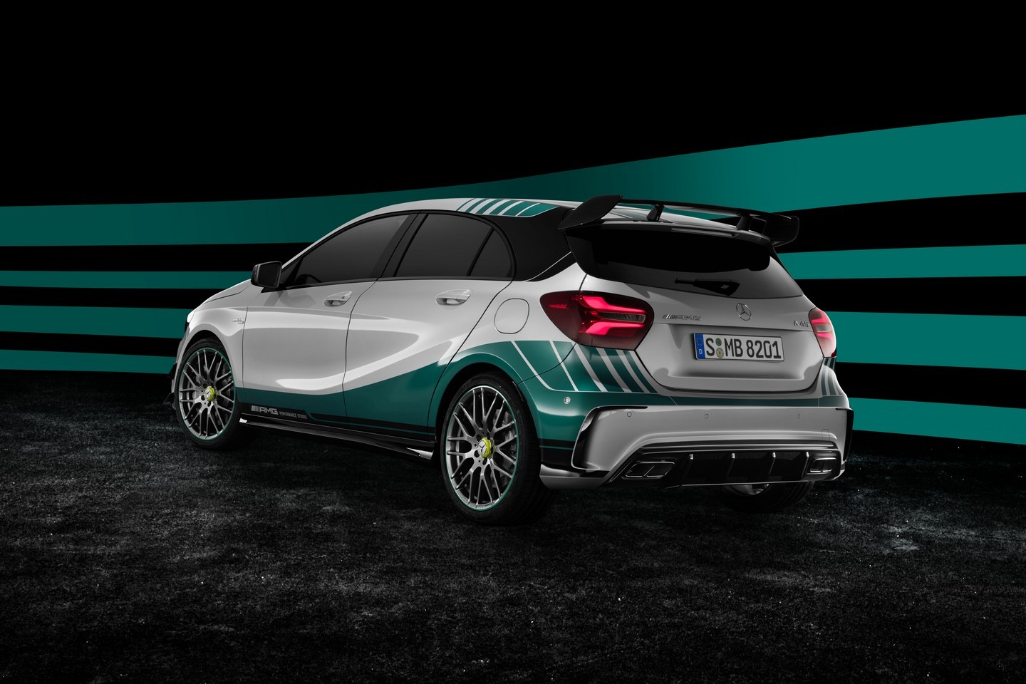 mercedes a45 amg petronas f ter le sacre. Black Bedroom Furniture Sets. Home Design Ideas
