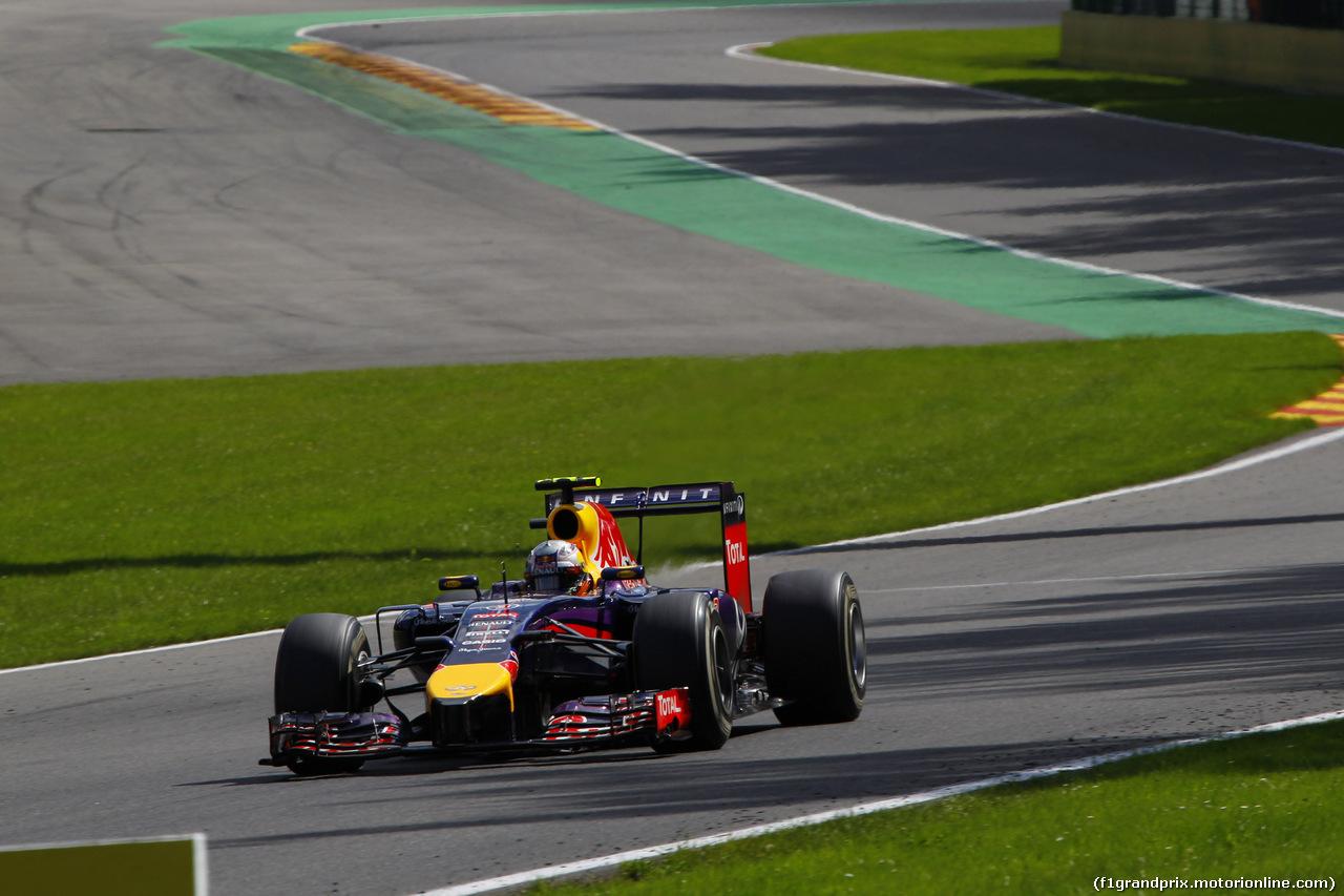 Belgique 2014 : La dernière victoire de Red Bull-Renault