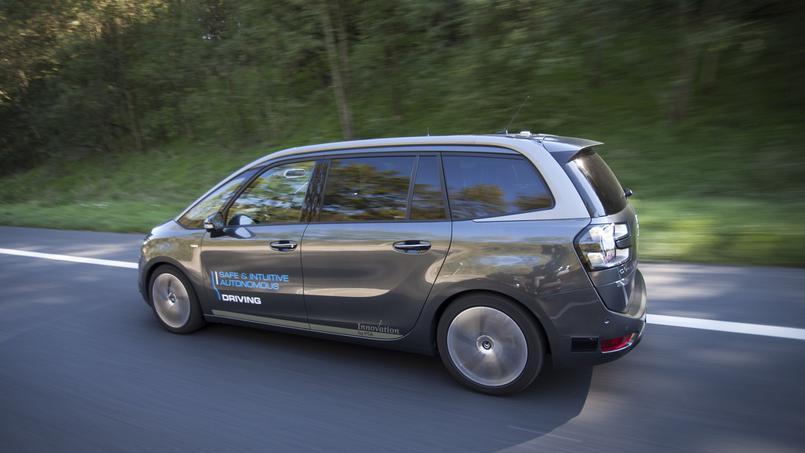 Un C4 autonome a parcouru 530 kilomètres