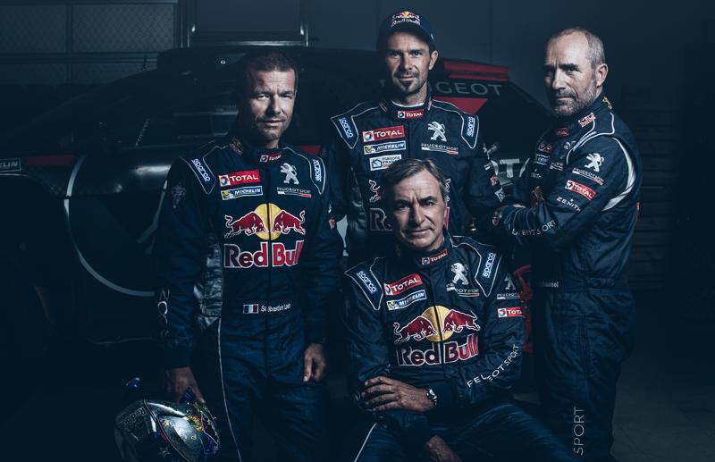 Une armada de pilotes chevronnés pour Peugeot