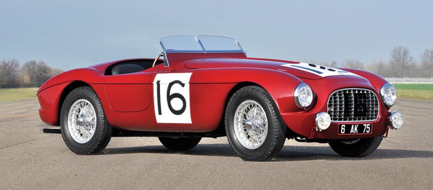 Ferrari 340 America Barchetta by Touring de 1951