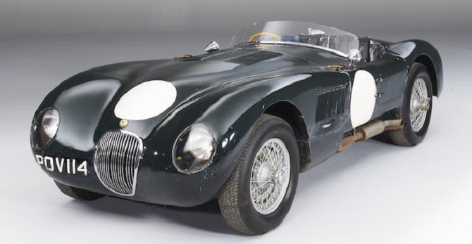 Jaguar XK120C C-Type Sports-Racing Two-Seats Roadster de 1953