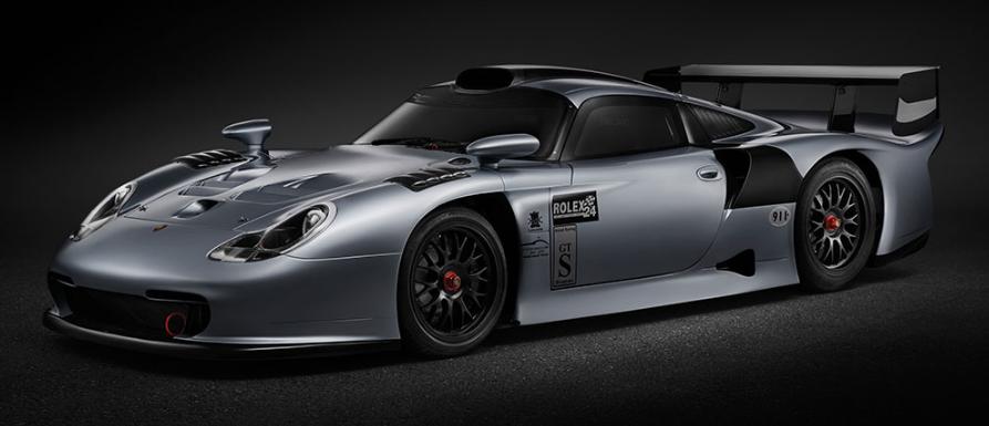 Porsche 911 GT1 Evolution de 1997