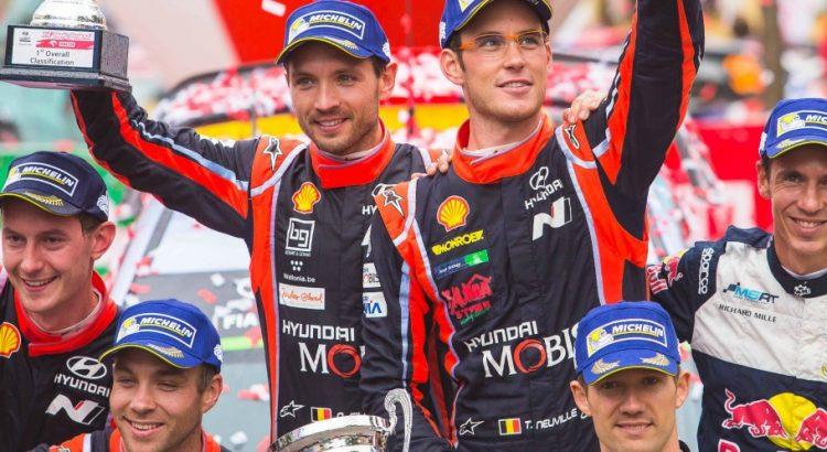 Victoire de Neuville au rallye de Pologne