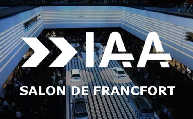 Le salon de l 39 automobile de francfort de 2017 for Salon de l industrie 2017